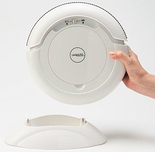 CCP 【LAQULITO】 自動ロボット掃除機(拭き掃除対応) エントリーモデル (ホワイト) CZ-C04-WH
