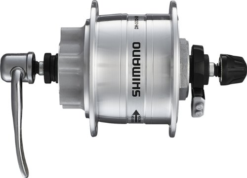 SHIMANO NABENDYNAMO DH-3D32-NT 36 LOCH(13) 6-LOCH-DISC-BR.M.SM-DH10,KLAR E-DH3D32DSG