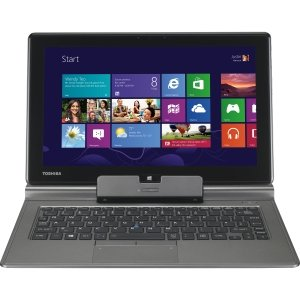 Toshiba Portege Z10t-A1110 Ultrabook/Tablet - 11.6' - Intel Core i5 i5-3439Y 1.50 GHz - Ultimate Silver