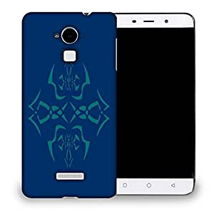 Snoogg Abstract Blue Pattern Designer Protective Back Case Cover For COOLPAD NOTE 3