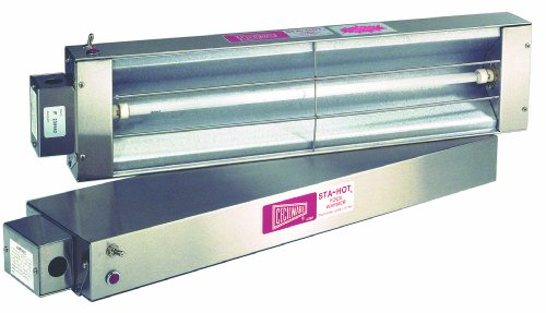 Grindmaster-Cecilware FW72Q Food Warmers with Quartz Heating Element, 1500-watt