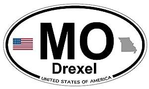 Amazon.com: Drexel, Missouri Oval Sticker: Automotive