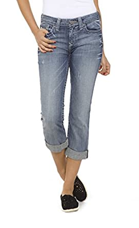 Big Star Women's Maddie Cropped Jeans in Lana Wash