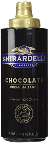 Ghirardelli Chocolate Sauce, Black Label (16oz Squeeze bottle)