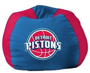 NBA Bean Bag Chair NBA Team: Detroit Pistons by Northwest Enterprises