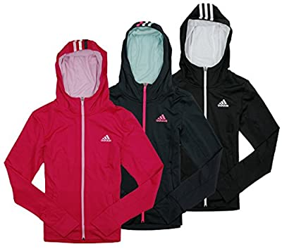 Adidas Big Girls Yoga Jacket