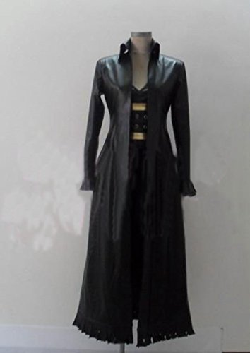 [Relaxcos One Piece Nico·Robin Black Outfits Cosplay Costume] (Nico Robin Cosplay Costume)