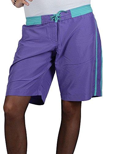 Pussy Deluxe Violetta Maglia a pantaloncini da, colore: lampone lampone Small