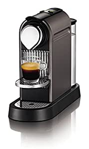 Nespresso CitiZ XN720T40 Coffee Machine by Krups - Titanium