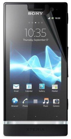 Sony Xperia U ST25i 5x Display-Schutzfolie + Poliertücher Schutz Folien thematys®