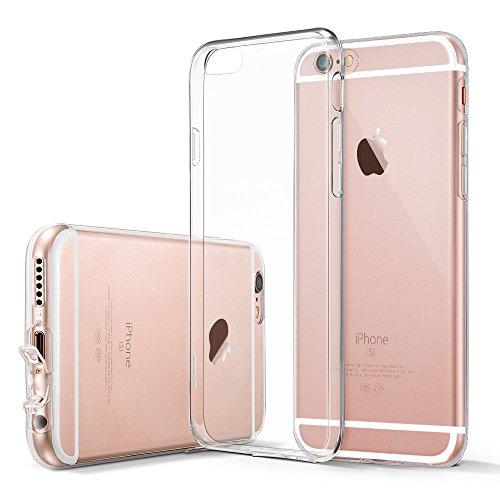 iPhone 6 / 6S Hülle (4.7 Zoll), ESR® [0.8mm Ultradünnen] Weiche Silikon Schutzhülle für iPhone 6/6S (Klar)