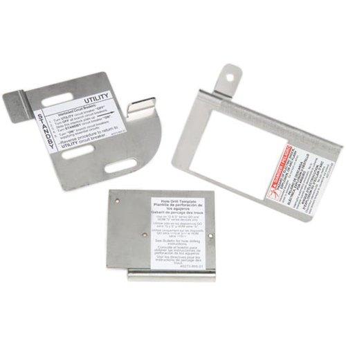 Square D By Schneider Electric Homcgk2C Homeline Cover Generator And Qom2 Frame Size Main Breaker Interlock Kit