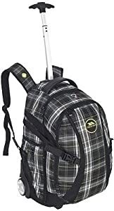 Trespass Wheeled Backpack - 36l Rucksack With Wheels