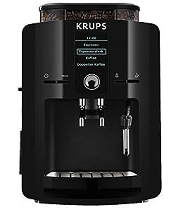 Krups EA 8250 Kaffee-Vollautomat Piano (1.8 l, 15 bar, 1450 Watt, externes Milchsystem) schwarz