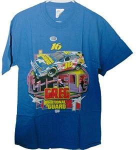 Greg Biffle 16 Vintage Tee Shirt Adult Large by Motorsport Authentics