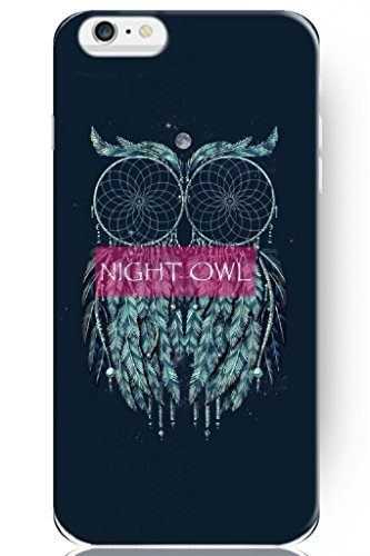Sprawl New Classic Vintage Beautiful Design Hard Plastic Snap On Slim Fit Night Owl 5.5 Inch Iphone 6 Plus Case For Teen Girls front-52790