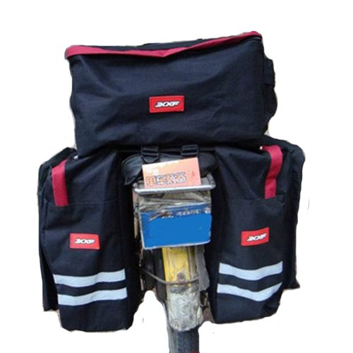 Big Three-in-one Rear Seat Bag Trunk Bags for Bikes Bicycles 43741