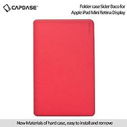 Capdase Sider Baco Folder Case for Apple iPad Mini / iPad Mini with Retina Display - Red / White (FCAPIDMR-1B92)