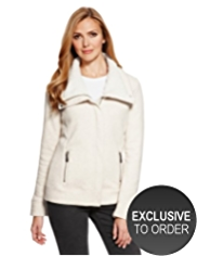 M&S Collection Supersoft Lined Jacket