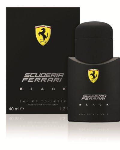 Ferrari Men's Scuderia Ferrari Black Eau de Toilette Natural Spray, 1.3 fl. oz.