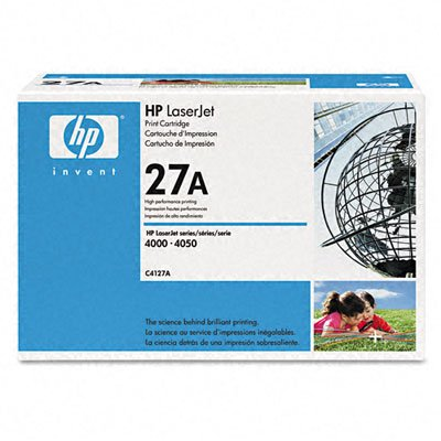 Toner Cartridge, F/LaserJet 4000/4050 Series, 6000 Pg/Yield, Sold as 1 each