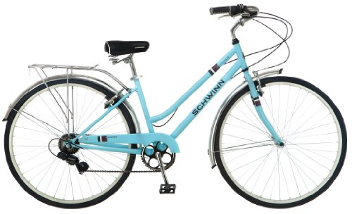 Schwinn Women's Wayfarer 700C Bicycle, Light Blue, 16-Inch