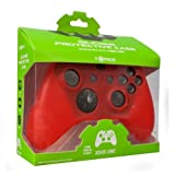 Tomee Silicone Skin Protective Case for Xbox One Controller (Red)