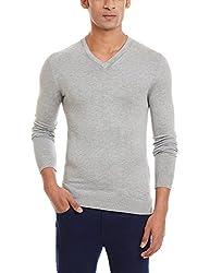 Celio Men's Viscose Sweater (3596654109871_Ceclassaw15_XX-large_Grey)