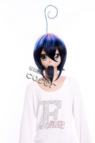 Imagen 1 de CosplayerWorld Blue Exorcist Mephisto Pheles Peluca Cosplay Anime Japones De Descuento 34cm 13inch Accesorios Cosplay