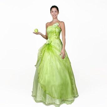 Abendkleid Ballkleid Cocktailkleid Kleid Hochzeitskleid Rot oder Grün ...