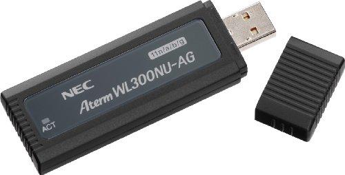 【Amazonの商品情報へ】NEC Aterm WL300NU-AG (USB子機) PA-WL300NU/AG
