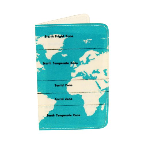 Climate Zones Map Business, Credit & ID Card Holder
