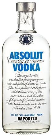 Absolut Vodka- Unflavored Ltr