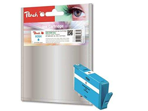 Peach PI300-546 Cyan Remanufactured Tintenpatronen Pack of 1