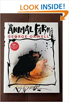 Animal Farm 50th Anniversary Edition with pictures by Ralph Steadman HB/DJ
