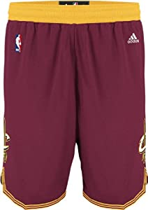 Cleveland Cavaliers Wine Youth Swingman Baskeball Shorts By Adidas by adidas