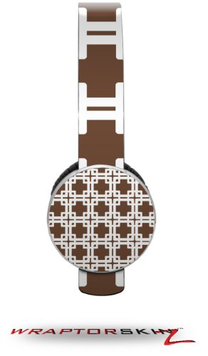 Boxed Chocolate Brown Decal Style Skin (Fits Sol Republic Tracks Headphones - Headphones Not Included)