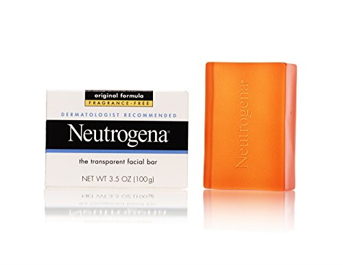 Neutrogena Transparent Facial Bar, Original Formula Fragrance Free, 3.5 Ounce (Pack of 3) (Hypo Allergenic Facial Cleanser compare prices)