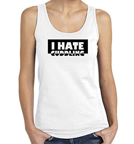i-hate-cuddling-black-and-white-slogan-womens-tank-top-t-shirt-x-large