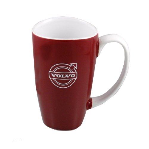 Genuine Volvo Maroon Westminster Coffee Cup Mug