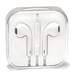 Retro Deals Of The Day !! Apple Iphone Earphone with Remote Control & Mic for ! Iphone 3GS, 4, 4s ,5,5s,6, ipads, Ipods Competible ! Best Quality !