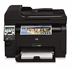 Hewlett Packard Laserjet CE866A Wireless Color Printer with Scanner and Copier