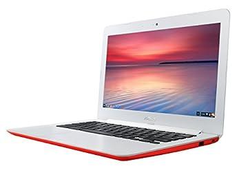 【日本正規品】 ASUS ノートブック Chromebook バレンシア オレンジ ( Chrome OS / 13.3inch / Celeron N2830 / 2G / 16G EMMC / 英語キーボード ) C300MA-ORANGE