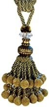 Xia Home Fashions Artisan Ball Tassels Gold