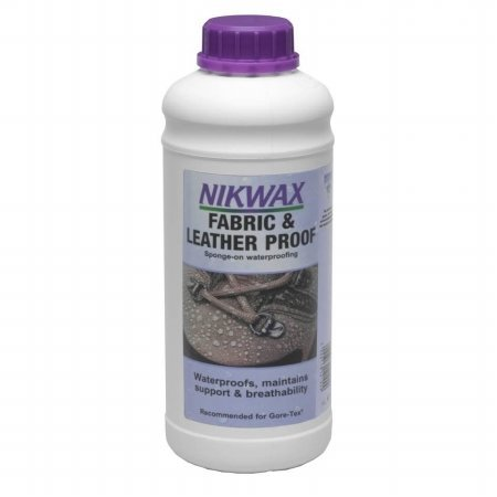 Nikwax Fabric and Leather Proof Spray On Treatment (4.2 fl. oz.) - Standard