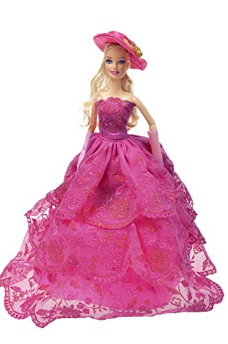 Banana Kong Doll's Graceful Feast Dress Gown With Hat