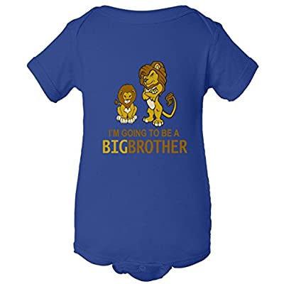 I'm Going To Be A Big Brother One Piece Baby Bodysuit