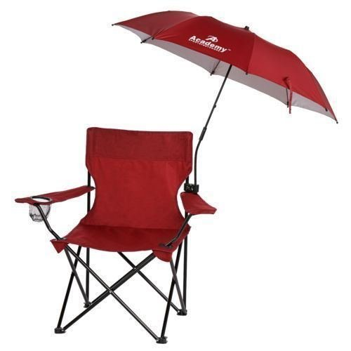 Clamp on Umbrella for Outdoor Folding Chair Camping Patio