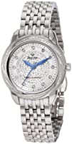 Bulova Womens 96R154 Precisionist Brightwater Swirl pattern Watch