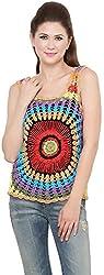 Rvestir Women's Cotton Tunic Top (OM136_XL)